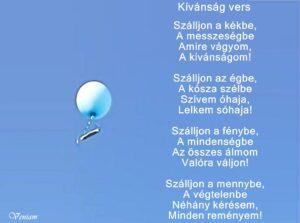 Kívánság vers
